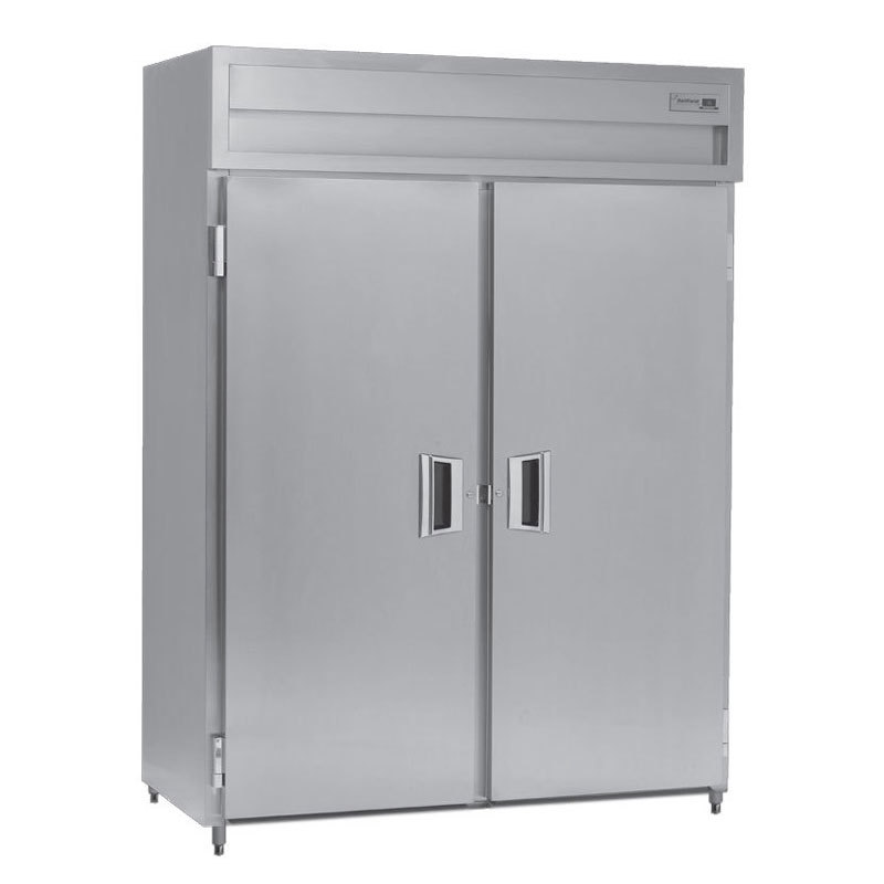Delfield Smf2 S 52 Cu Ft Two Section Solid Door Reach In