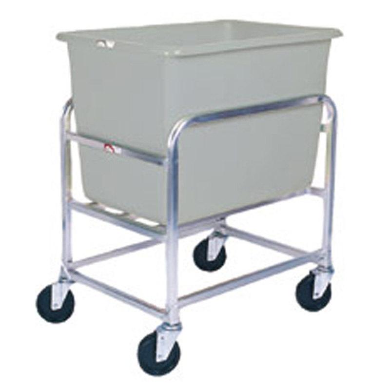 Winholt 30-6-A/GY Aluminum Bulk Mover with 6 Bushel Gray Tub Main Image 1