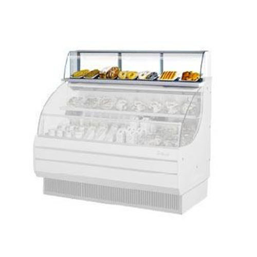 """Turbo Air TOMD-75-L 75"""" Top Dry Display Case - White"""