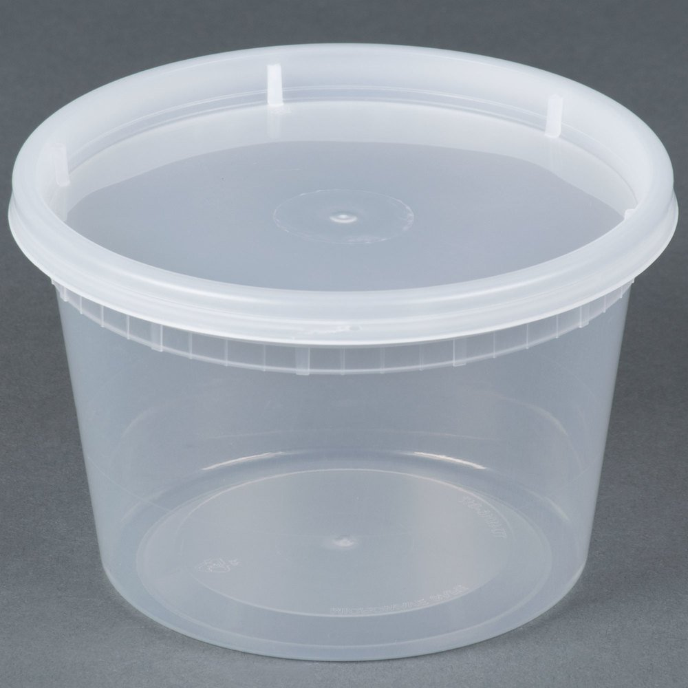 8 Quart Food Storage Container With Lid