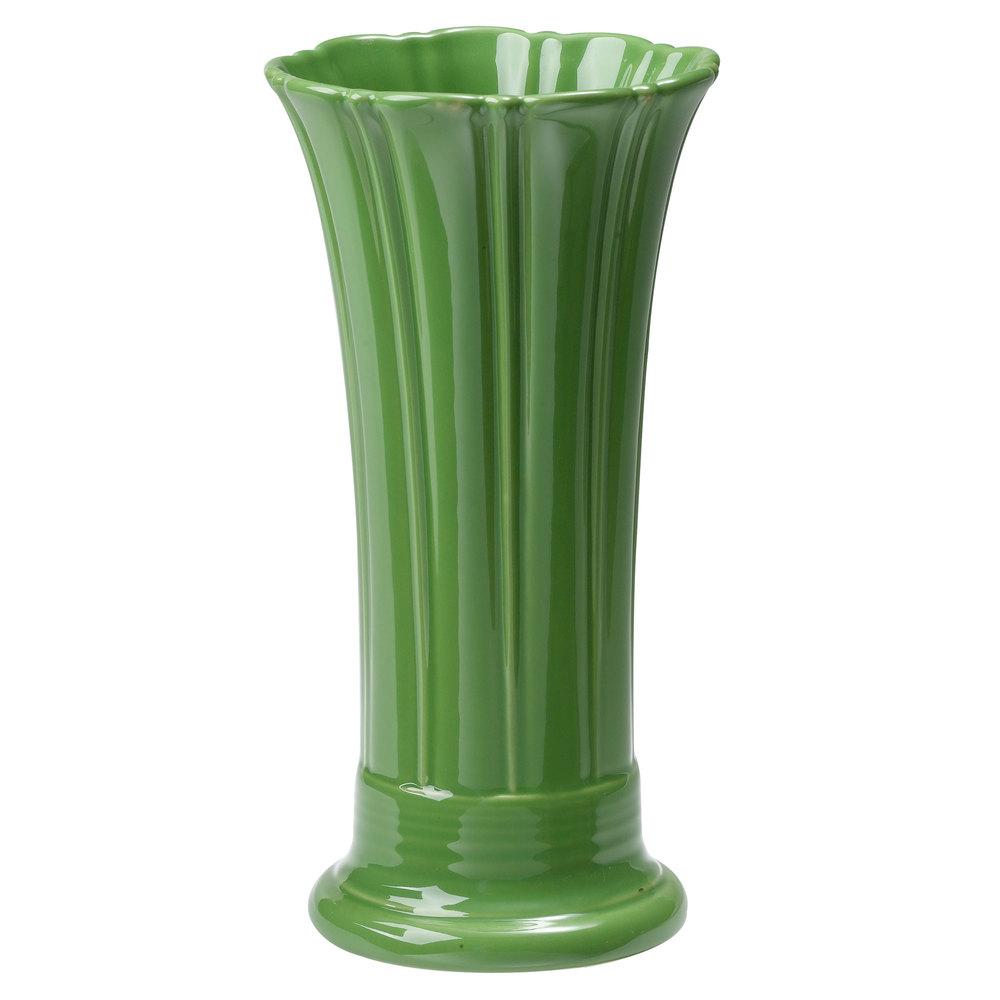 """Homer Laughlin Fiesta Shamrock 9 5 8"""" Medium Vase"""