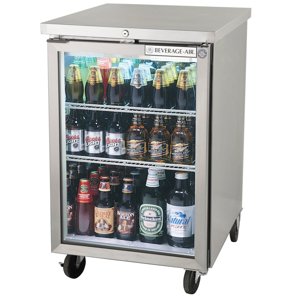 Beverage Air Bb24hc 1 G S 24 Inch Stainless Steel Back Bar Refrigerator With