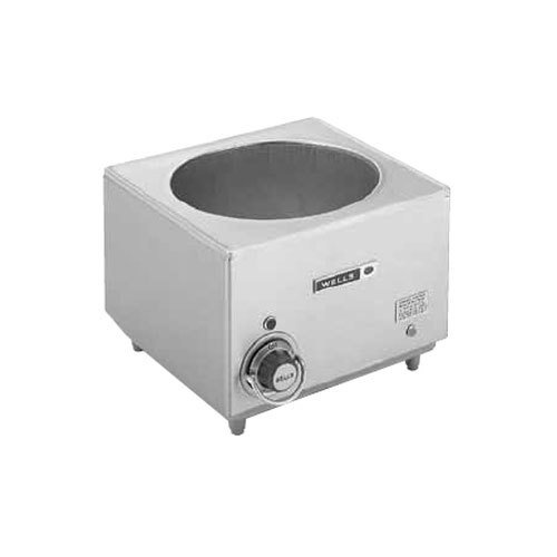 Wells HW10 11 Qt. Countertop Cook and Hold Soup Warmer - 120V