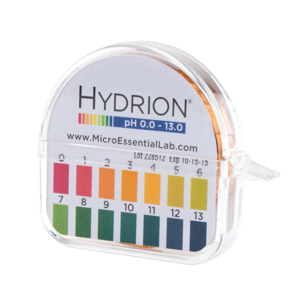 Hydrion 93 S R Insta Check Ph Test Paper Dispenser Level