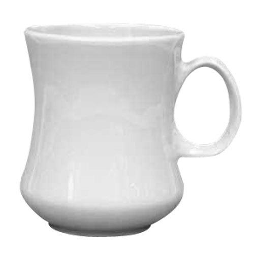 Homer Laughlin 14000 11 oz. Ivory (American White) River China Mug - 36/Case