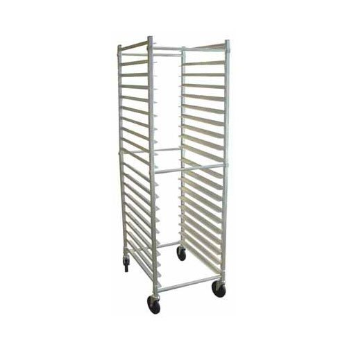 Winholt ADE1820B/KDA 20 Pan End Load Aluminum Bun / Sheet Pan Rack - Unassembled