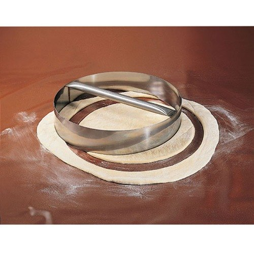 """American Metalcraft RDC19 19"""" x 3"""" Stainless Steel Dough Cutting Ring"""