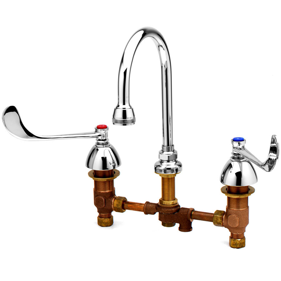 T S B Pv Pedal Valve Connection For B 0865 Style Faucets