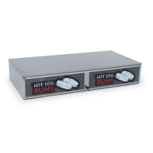 Nemco 8230-SBB Stainless Steel Bun Box for 8230 Series Roller Grills - Holds 36 Buns