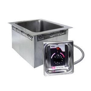 APW Wyott HFW-12 1/2 Size Insulated One Pan Drop In Hot Food Well - 120V