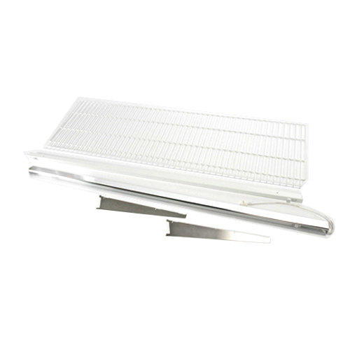 "True 883578 White Coated Wire Shelf with Light - 71 3/8"" x 22 1/2"""