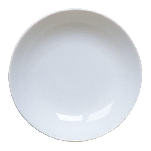 Homer Laughlin 20236800 Ameriwhite Alexa 6 oz. Bright White China Fruit / Monkey Dish - 36/Case