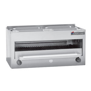 garland msrc master series natural gas 34 countertop infra red salamander broiler 28000 btu - Salamander Kitchen