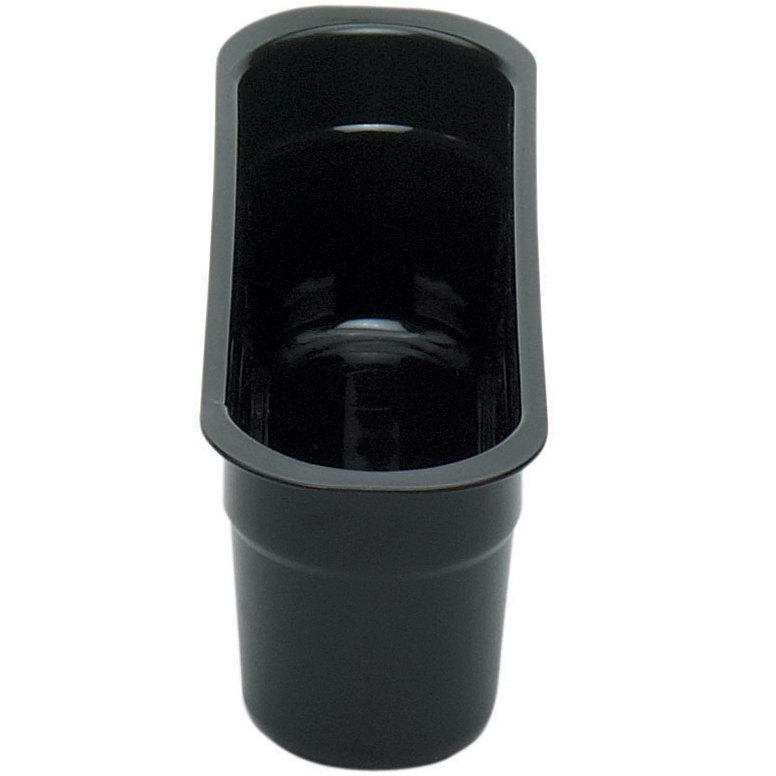Cambro 415CBP110 Poly Cambox Black Polyethylene Cutlery Box