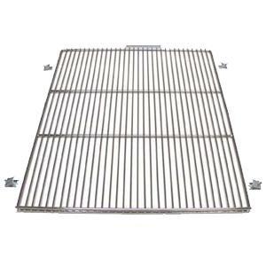 "True 918577 Stainless Steel Left Side Wire Shelf - 27 1/2"" x 16"" Main Image 1"