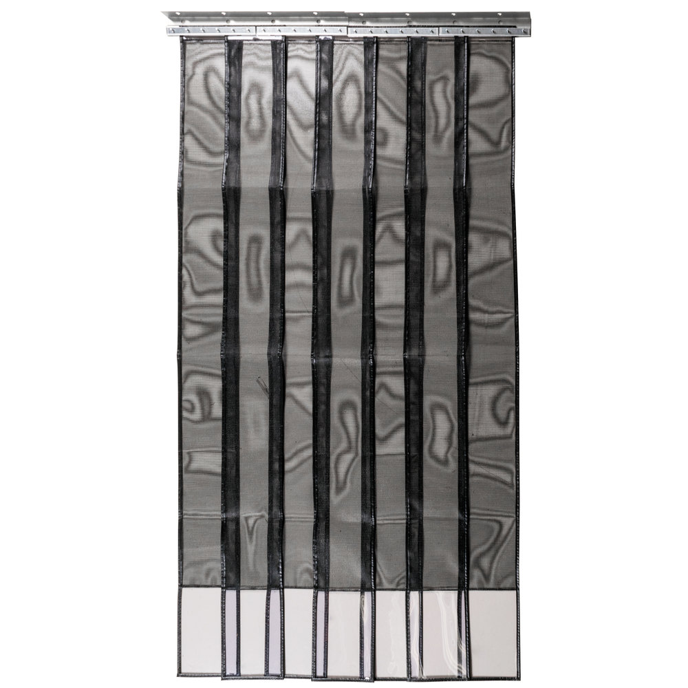 Curtron SD-MESH-4884 48 inch x 84 inch Mesh Strip Door / Insect