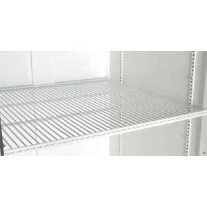 "True 909454 White Coated Wire Shelf - 22 15/16"" x 20 9/16"""