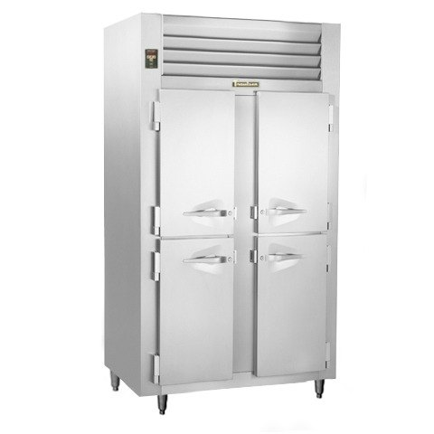 Traulsen ALT232NUT-HHS 46 Cu. Ft. Two-Section Solid Half Door Narrow Reach-In Freezer - Specification Line