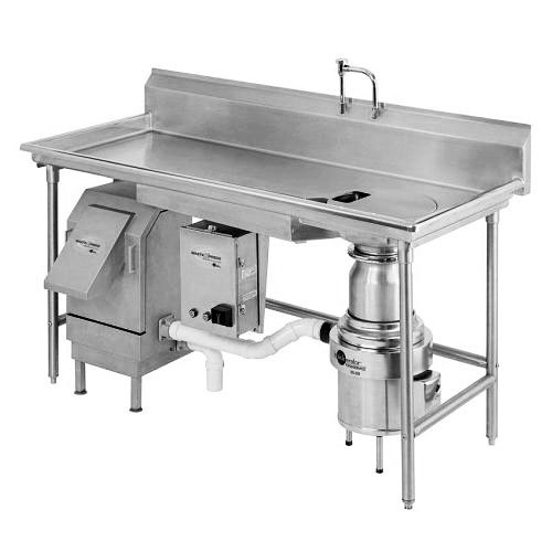 InSinkErator WX-500-6-WX-101 WasteXpress 700 lb. Food Waste Reduction System with #6 Mounting Collar - 208-230/460V Main Image 1