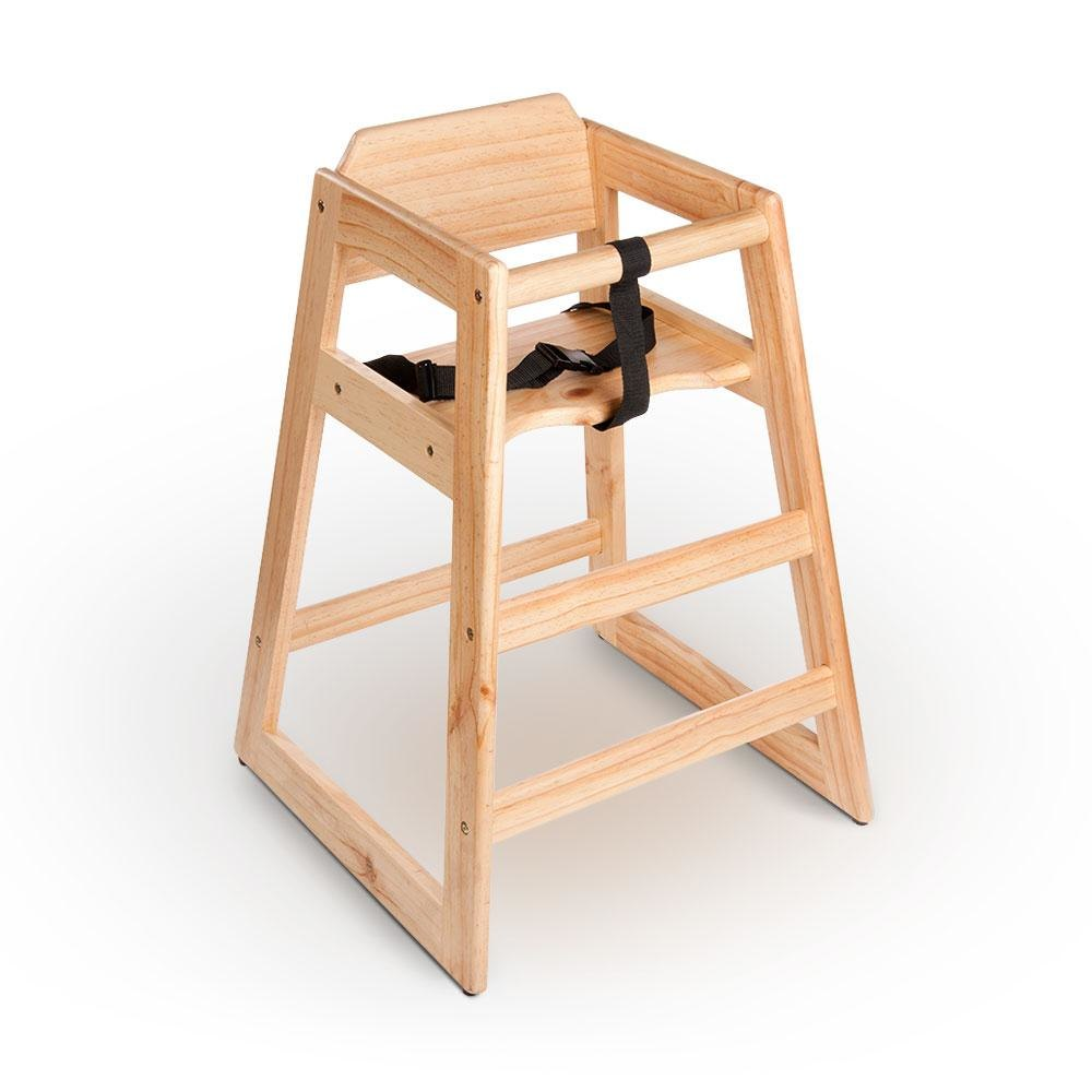 Wood High Chair to pin on Pinterest