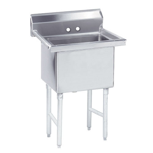 """Advance Tabco FS-1-3024 Spec Line Fabricated One Compartment Pot Sink - 35"""" Scratch and Dent"""