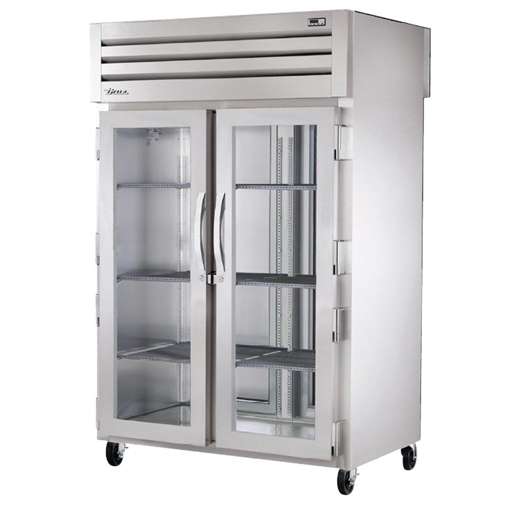 Glass Refrigerator True Sta2rpt 2g 2s Specification Series Pass Through Refrigerator