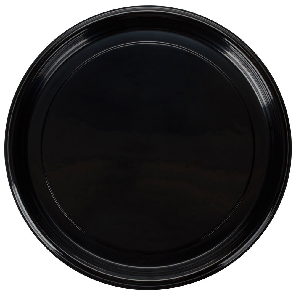 Fineline Platter Pleasers 7810TF PET Plastic Black Thermoform 18 inch Catering Tray - 25/Case ...  sc 1 st  WebstaurantStore & Disposable Serving Trays - WebstaurantStore