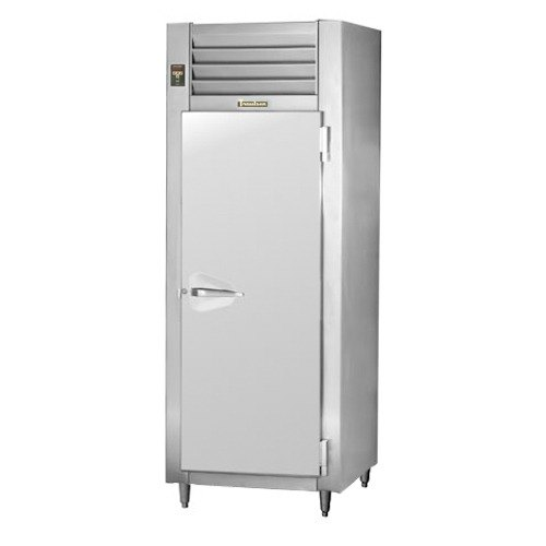 Traulsen RLT132WUT-FHS Stainless Steel 24.2 Cu. Ft. One-Section Solid Door Reach In Freezer - Specification Line