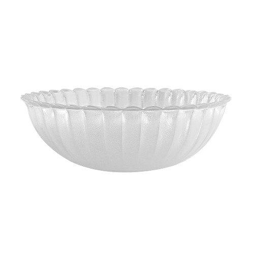 GET HI-2004-CL Mediterranean 1.5 Qt. Clear Polycarbonate Bowl - 12/Case