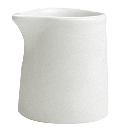 Hall China 3771/22AWHA Ivory (American White) 3 oz. Tankard Creamer - 72/Case