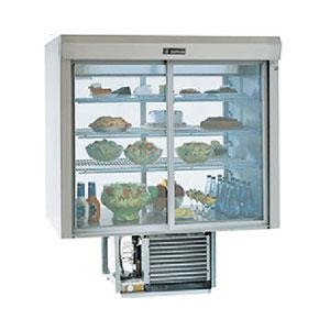 """Delfield F5SC72N 72"""" Narrow Depth Drop-In Refrigerated Display Case with See-Through Back - 22.2 Cu. Ft."""