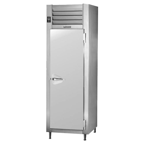 Traulsen AHT132DUT-FHS 17.7 Cu. Ft. One Section Narrow Reach In Refrigerator - Specification Line Main Image 1