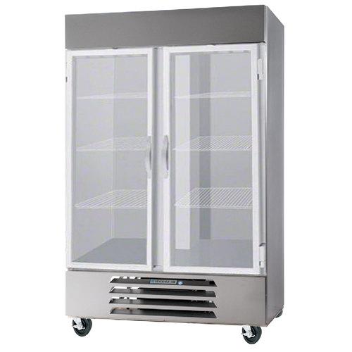 """Beverage-Air HBR49HC-1-G Horizon Series 52"""" Bottom Mounted Glass Door Reach-In Refrigerator"""