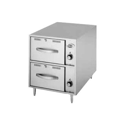 Wells RWN2 2 Drawer Narrow Freestanding Warmer - 208/240V