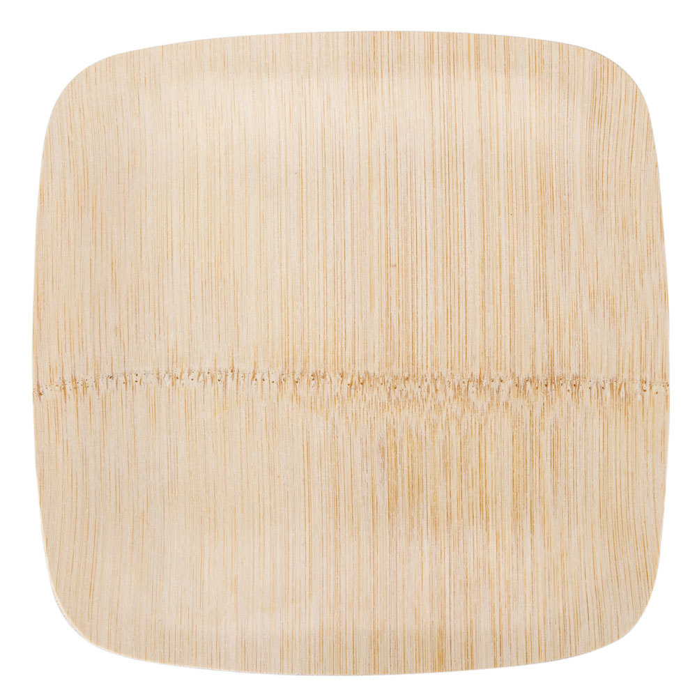 Paper Bamboo Plates Bamboo Plate 25 / Pack