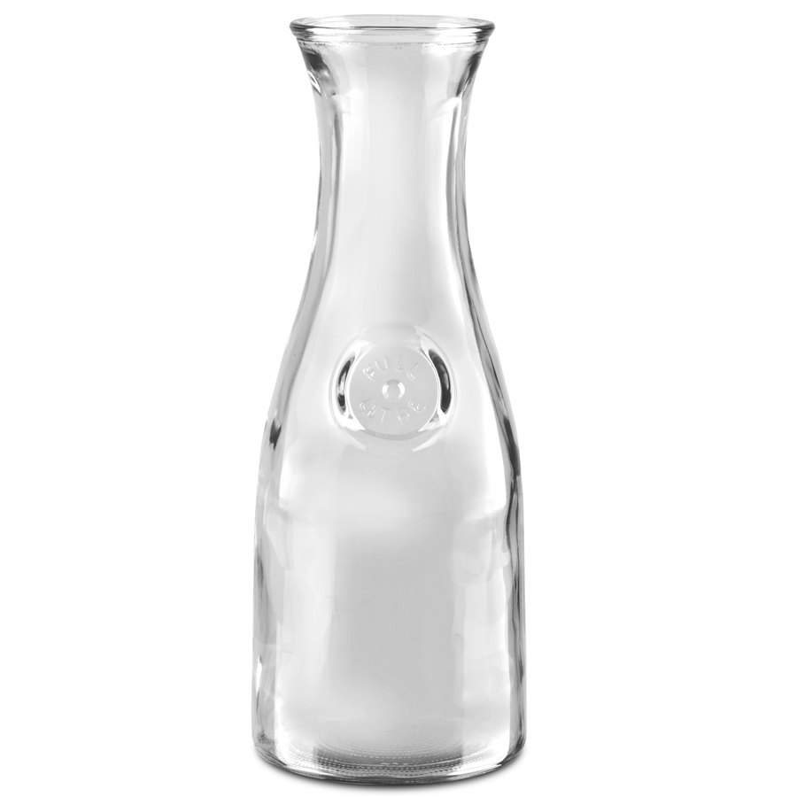 anchor hocking 139ur excellency 1 liter 34 oz glass carafe 12 case. Black Bedroom Furniture Sets. Home Design Ideas
