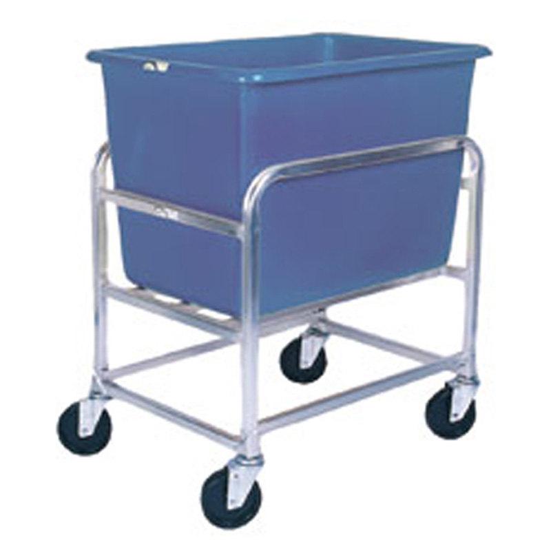 Winholt 30-6-SS/BL Stainless Steel Bulk Mover with 6 Bushel Blue Tub Main Image 1