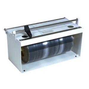 "Bulman A550-12 12"" White Counter Mount Food Wrap Film Dispenser Main Image 1"