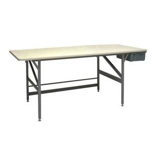 """Bulman A80-36 36"""" x 84"""" Standard Packing Table with Drawer Main Image 1"""