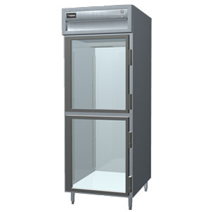 Delfield SAF1-GH 25 Cu. Ft. One Section Glass Half Door Reach In Freezer - Specification Line