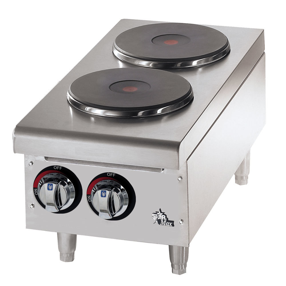 Countertop Stove Burners : Star 502FF 2 Burner Countertop Range with Solid Burners