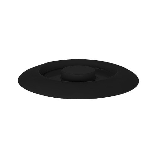 """GET TS-800-L Black 7 3/4"""" Melamine Replacement Lid for TS-800 7 3/4"""" Tortilla Server - 12/Pack Main Image 1"""