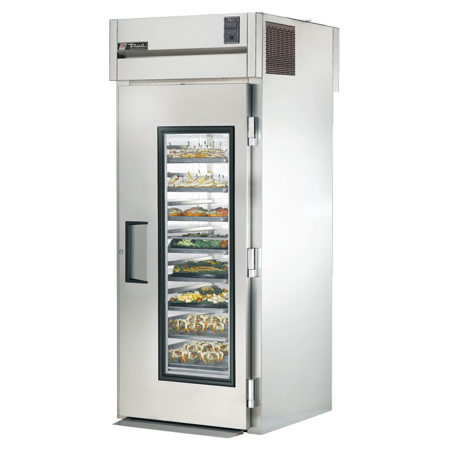 ... Refrigerator with Front Glass Door and Rear Solid Door - 37 Cu. Ft