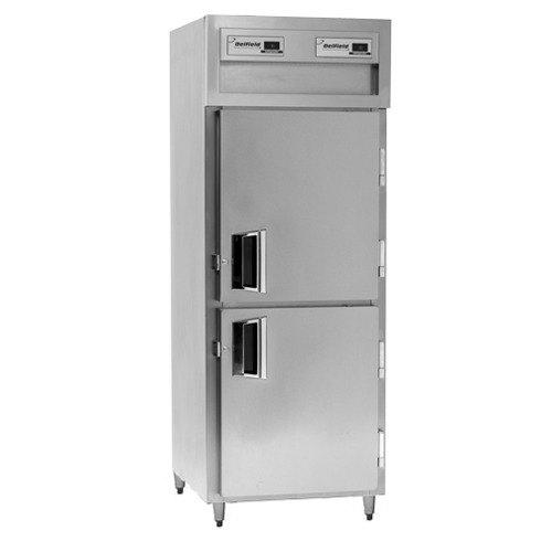 Delfield SADBR1-SH 21.62 Cu. Ft. Solid Half Door Dual Temperature Reach In Refrigerator / Freezer - Specification Line