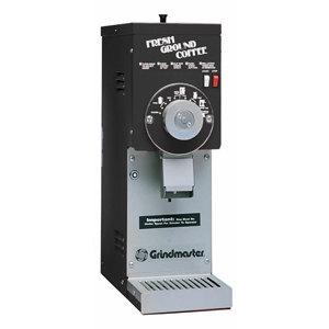 Grindmaster 835S Black ETL Slimline 1.5 lb. Coffee Grinder - 115V