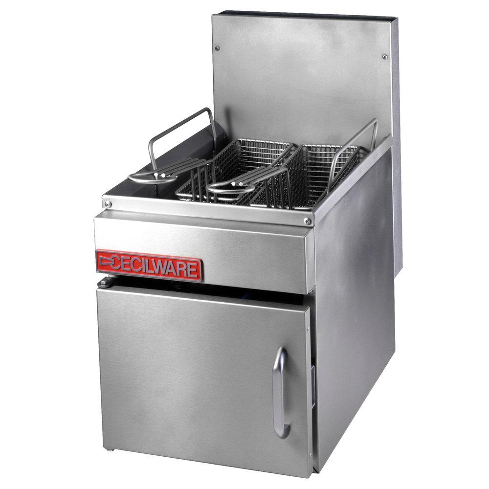 Cecilware Gf 10 Liquid Propane 13 Lb Countertop Fryer