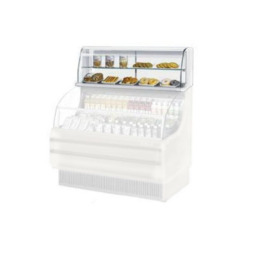 "Turbo Air TOMD-60-H 63"" Top Dry Display Case - White Main Image 1"