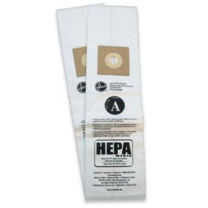 Hoover AH10135 Type A HEPA Vacuum Bag for Upright Vacuums - 2/Pack Main Image 1