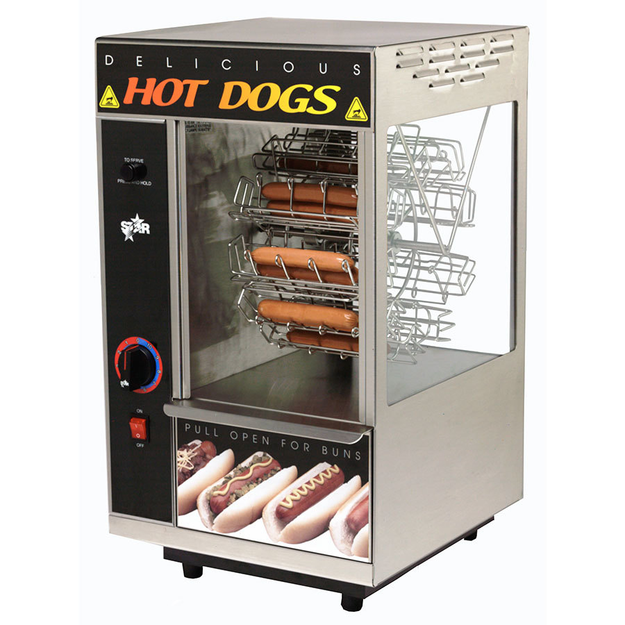 Broil Hot Dogs