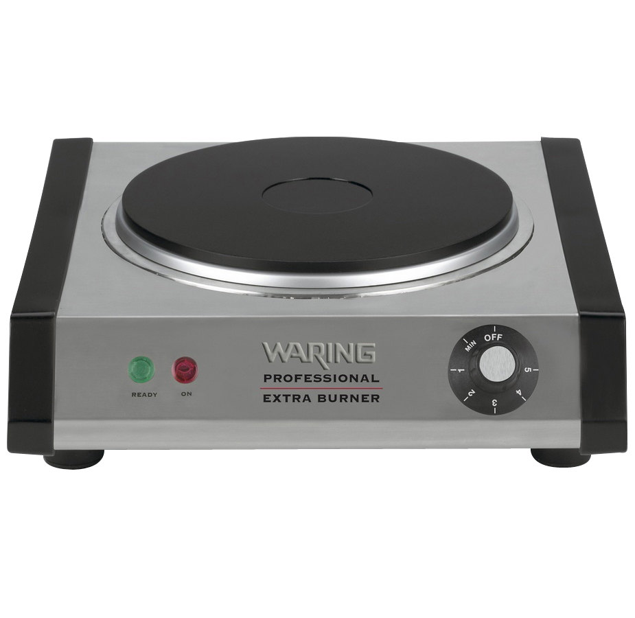 Countertop Electric Stove Top Burner : Waring WEB300 Single Burner Solid Top Countertop Range - Heavy Duty ...